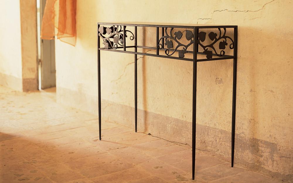 Tavoli ferro - Tavoli da pranzo ferro battuto e vetro ...