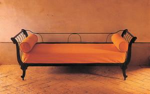 divano barca ferro