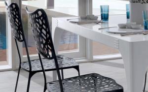 sedie ferro contemporane