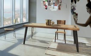 tavoli legno ferro
